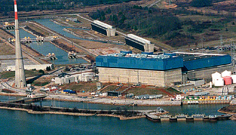 Nuclear power plants like the Browns Ferry Nuclear Plant near Athens, Ala., are getting new interest in light of global warming. Some environmentalists are rethinking nuclear power because it emits zero greenhouse gases.