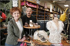 When Kay and Phil Smith offered discounts on Brighton accessories at Kay's Kloset, their suburban Dallas shop, the manufacturer stopped shipping the line to them. They are suing the manufacturer over price mandates.