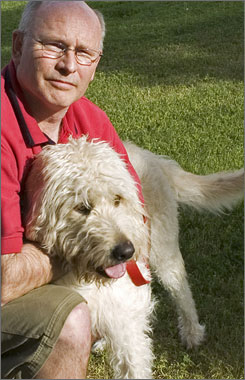 Jeff Burnton's dog Damion had similar symptoms. But unlike Nikki, Damion survived.