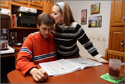 Rhett Davis, 32, with his wife, Terri, needed an experimental drug to fight a rare and fatal blood disorder.