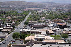 St. George, Utah, just north of the Arizona border, was the fastest-growing metro area from 2000 to 2006.