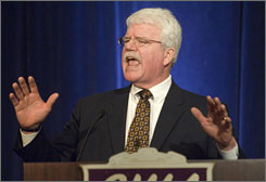 Rep. George Miller, D-Calif., who chairs the House Committee on Education and Labor will preside at the first hearing Friday on Reading First.