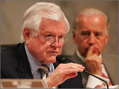 The proposal, sponsored by Sen. Edward Kennedy, D-Mass. would empower the FDA for the first time to closely track the safety of drugs after they are approved for sale.