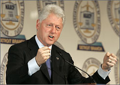 Former President Bill Clinton will headline an NAACP fundraiser Friday in South Carolina. Nearly half of South Carolina's Democratic primary voters are black.