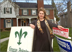 Renee Nixon, who owns Grosse Pointe Sales, which conducts estate sales, says many homeowners have hired her to sell their homes and their unwanted possessions before they move.