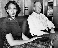 Richard P. Loving married Mildred Jeter in 1958. Upon their return to Virginia, the couple was convicted under the state's law that banned mixed marriages.