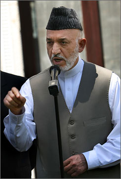Afghan President Hamid Karzai recently accused NATO and U.S.-led troops of carelessly killing scores of Afghan civilians and warned that the fight against resurgent Taliban militants could fail unless foreign forces show more restraint.