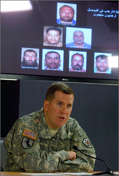 Brig. Gen. Kevin Bergner reported from Baghdad's Green Zone Monday that senior Iranian leaders know about the operations of Iran's Qods Force in exacerbating violence in Iraq  some of the most direct accusations yet against Tehran over the chaos in Iraq.