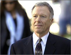 Former White House aide Lewis &quot;Scooter&quot; Libby was convicted in March of lying and obstructing an investigation into a CIA leak.