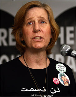 "Anti-war activist and mother of a fallen soldier Cindy Sheehan says that unless House Speaker Nancy Pelosi introduces articles to impeach President Bush by July 23, Sheehan will seek to run against her. ""I'm doing it to encourage other people to run against Congress members who aren't doing their jobs,"" Sheehan said."
