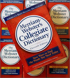"The 11th edition of Merriam-Webster's Collegiate Dictionary, which goes on sale this fall, will include words like ""crunk,"" ""telenovelas"" and 'IED."""