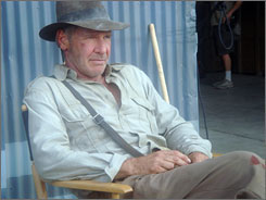 The biggest action sequences of the fourth Indiana Jones movie are being filmed in Hawaii.