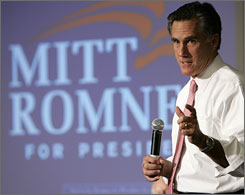Mitt Romney's fundraising bill accounts for $1 out of every $5 spent by Republicans on consultants in the second quarter.