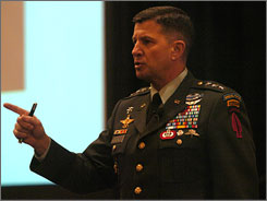 Lt. Gen. Philip R. Kensinger, Commander of US Army Special Operations Command, withheld the circumstances of Pat Tillman's death from the NFL star's family. Pentagon officials said Thursday the retired general will likely be demoted.