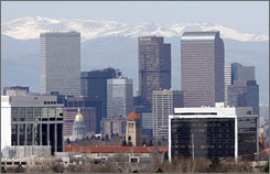Denver will host the 2008 Democratic National Convention August 2528, 2008. The GOP convention will be held in Minneapolis-St. Paul a month later.