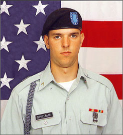 A military jury sentenced Pfc. Jesse Spielman to 110 years for the rape and murder of an Iraqi girl and the slaying of her family on March 12, 2006. Spielman is the third servicemember to be convicted for the crime.