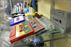 The U.S. market for blank tapes peaked in 1994, when 438.9 million tapes were sold, according to the Content Delivery and Storage Association.