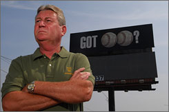 "Walls, Miss., Mayor Gene Alday persuaded a strip club owner to change his billboard ad from ""Got Boobs?"" to this, deemed less offensive."