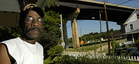 Jeffery Coleman thinks a barrier to deter would-be suicide jumpers at the All-America Bridge in Akron, Ohio, where 26 people have committed suicide over the last 10 years, is long overdue.