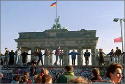 The Berlin Wall was torn down in 1989, the year most of today's college freshmen were born. To them, the Iron Curtain and the Soviet Union are meaningless.