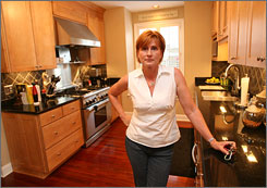 Denise Thornton jump-started work on her home with her own money and helped organize rebuilding in her area.