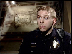 This image from television provided by WCCT-TV shows Minneapolis-St. Paul International Airport Police Sgt. Dave Karsnia in Feb. 2006.