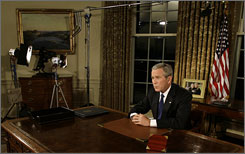 President Bush said the U.S. engagement in Iraq will stretch beyond his presidency, requiring military, financial and political support from Washington.