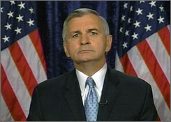 Sen. Jack Reed, D-R.I., delivered the Democratic response to President Bush's primetime speech on Thursday.