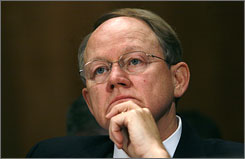 Director of National Intelligence Mike McConnell says he is not an advocate for the Bush administration.