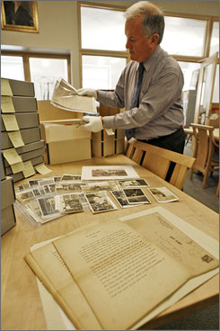Andrew Wentink, curator of Middlebury's special collections, calls the Hemingway collection the most significant acquisition by the college's archives since 1940.
