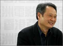 Ang Lee believes the Chinese-language movie market has the potential to overtake the English-language market.