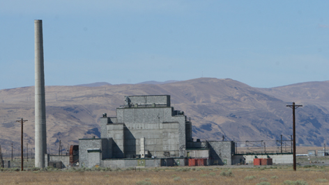 B Reactor, the world?s first production-scale nuclear reactor, is located at the federal government?s Hanford nuclear site near Richland, Wash.