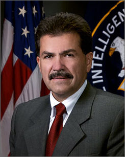 Jose Rodriguez, the CIA's outgoing director of clandestine intelligence gathering, said the share of minority recruits doubled from 2006 to 2007.