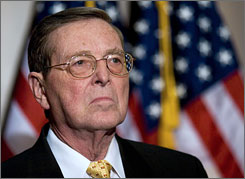 Budget issues have dominated Domenici's long Senate career. He chaired the Senate Budget Committee when Ronald Reagan became president, helping pass the blueprint that led to enactment of deep cuts in income taxes in 1981.