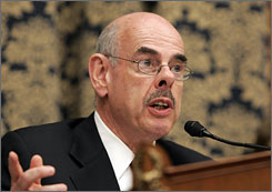 "Democratic Rep. Henry Waxman says oversight is ""in some ways even more important than legislating."""