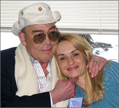 The late writer Hunter S. Thompson and his wife, Anita Thompson, were married April 23, 2003,  in a civil ceremony at the Pitkin County Court House, in Aspen, Colo.