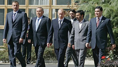 путин туркменистан визит 2007: