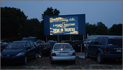The Diamond State drive-in near Felton, Del., is the one remaining outdoor theater in the state. Its operators don't know how much longer it will last. The property may be developed for other uses.