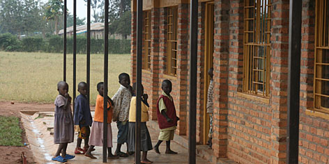 """In Rwanda, UNICEF is using """"Idol"""" money to help heal wounds from a genocide that killed 800,000 people. At Kawangire Primary School, 60 miles east of the Rwandan capital of Kigali, pupils have formed clubs such as """"Unity and Reconciliation"""" to overcome ethnic tensions."""