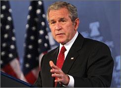 "Denial that ""we are at war"" is dangerous, President Bush said Thursday."