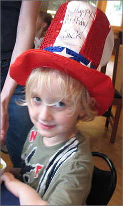 John William Anderson, who was born on July 4, 2001, is on TSA's watch list. He was first stopped in 2004 when his mother and grandmother took him on his first plane ride to Disney World.