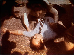 Alabama Gov. George Wallace fell to the ground after an attempted assassination during his presidential campaign in Laurel, Md., May 15, 1972.