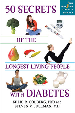 "Co-author Sheri Colberg was told to ""live life first and be diabetic second."""