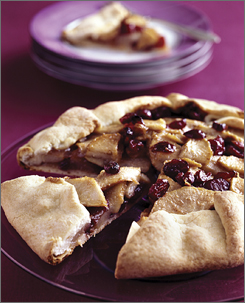 Family Circle magazine featured the Pear and Cranberry Galette.