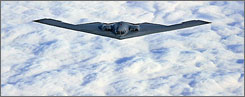 All 21 of the Air Force's B-2 bombers are based in Whiteman Air Force Base in Missouri.