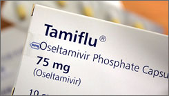 Tamiflu's maker says there is no evidence the flu medicine is responsible for the reports of abnormal behavior.