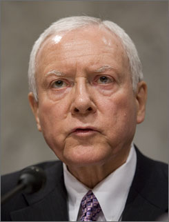 Sen. Orrin Hatch, himself a member of The Church of Jesus Christ of Latter-day Saints, said White House candidate Mitt Romney should discuss his faith in light of questions about how religious beliefs might affect governance.