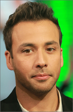 Howie Dorough of the Backstreet Boys make an appearance on MTV's Total Request Live in New York on Oct. 30. Dorough wed his longtime girlfriend on Saturday, the band's attorney confirmed.
