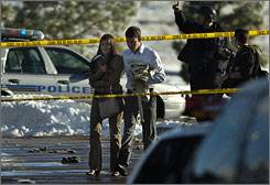 Law enforcement officials swarm New Life Church in Colorado Springs
