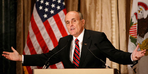 Republican presidential hopeful Rudy Giuliani is now hitting harder in his quest for early state success with less than three weeks before the first votes will be cast in Iowa on Jan. 3.